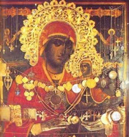 Minunea Sfintei Ana cu femeia care nu putea avea copii