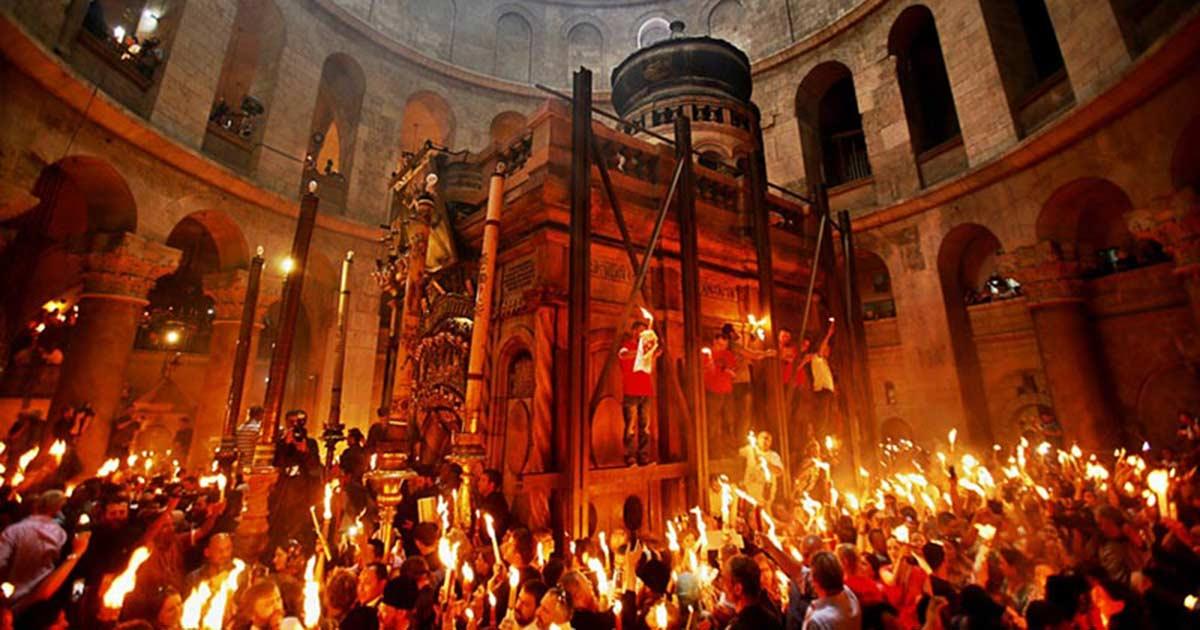 Lumina Sfântă de la Ierusalim