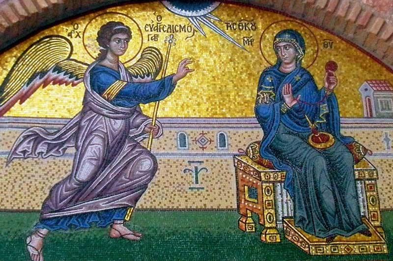 Acatistul Bunei Vestiri a Preasfintei Născătoarei de Dumnezeu și pururea Fecioarei Maria