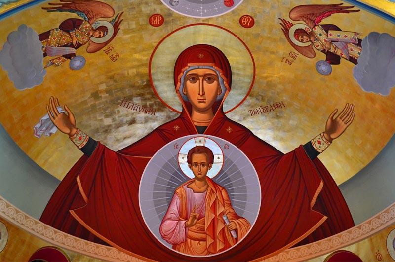 Maica Domnului Stăpâna Îngerilor