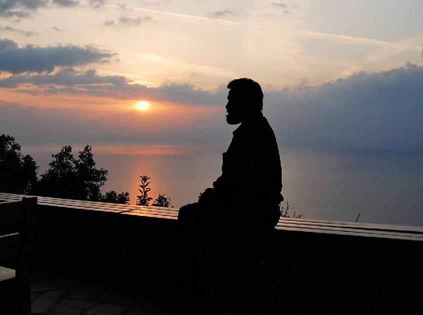 Apus de soare la Muntele Athos