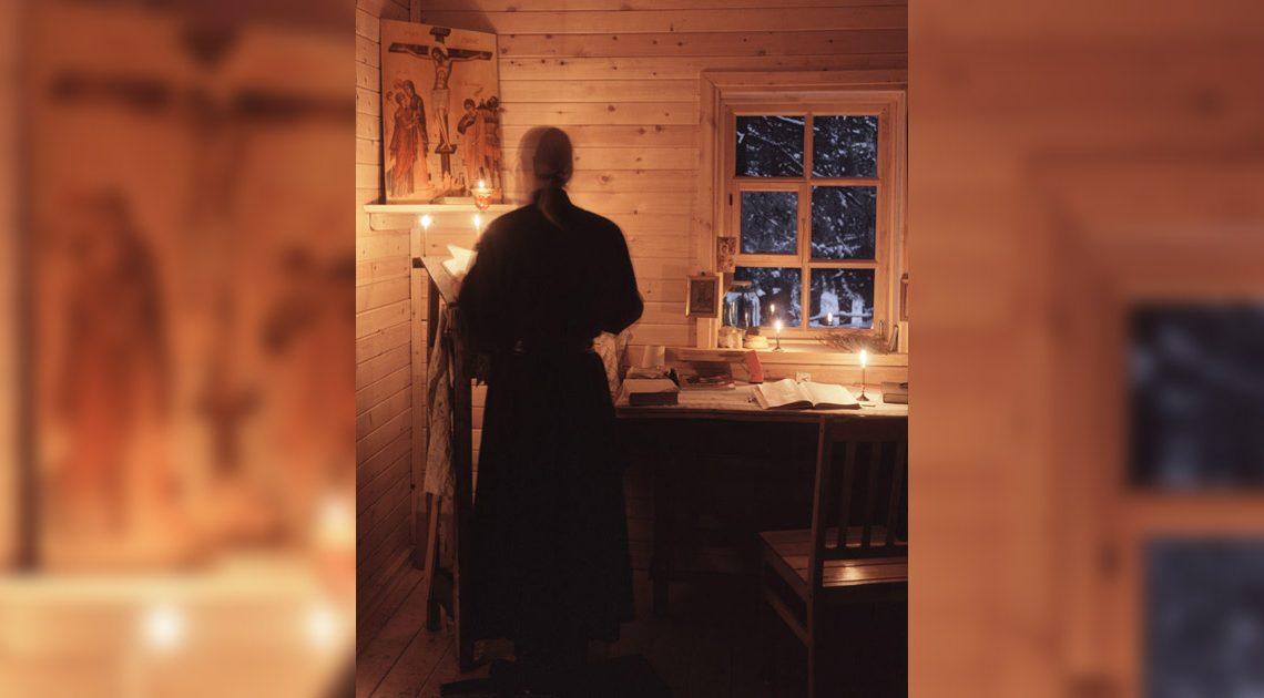 Rugăciune în chilie