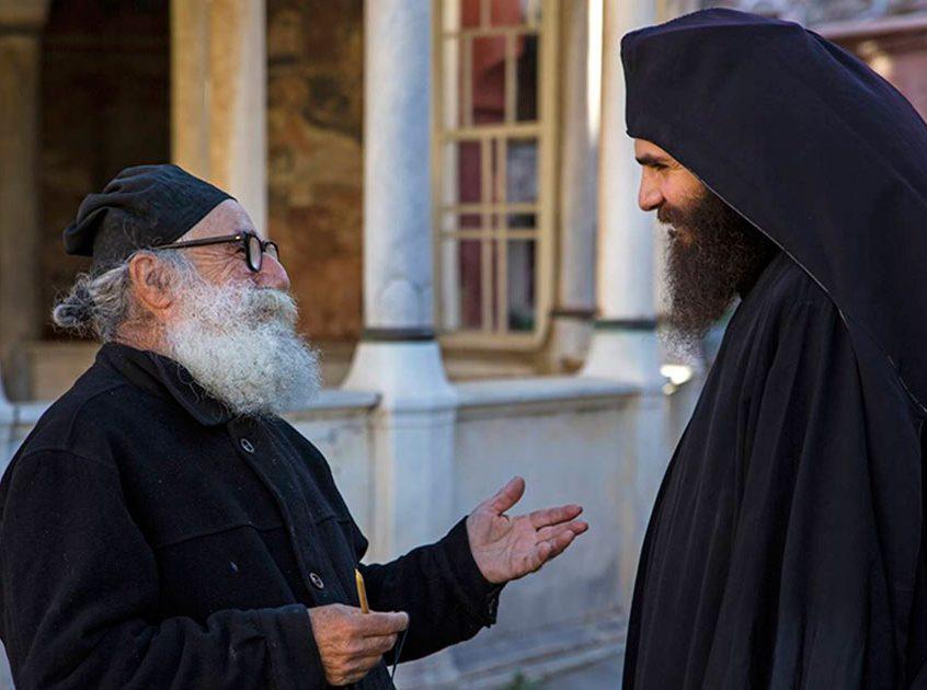 Convorbire între monahi
